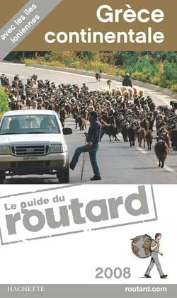 GUIDE DU ROUTARD GRECE CONTINENTALE 2008