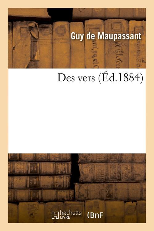 Des vers (ed.1884)