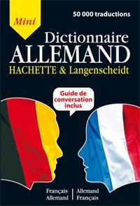 MINI DICTIONNAIRE HACHETTE & LANGENSCHEIDT - BILINGUE ALLEMAND