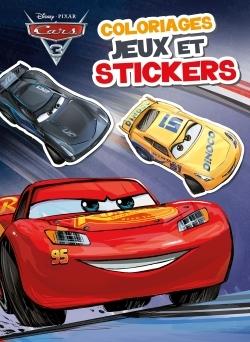 CARS 3 - COLOS, JEUX ET STICKERS