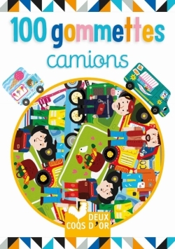 100 GOMMETTES - CAMIONS