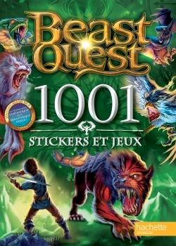 BEAST QUEST - 1001 STICKERS ET JEUX