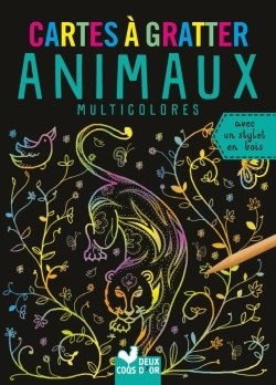 CARTES A GRATTER - ANIMAUX