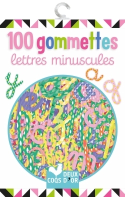 100 GOMMETTES - LETTRES MINUSCULES