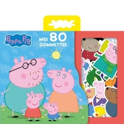 PEPPA PIG - MES 80 GOMMETTES