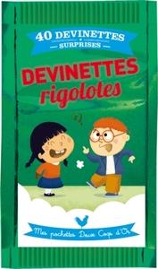 DEVINETTES RIGOLOTES