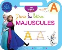 REINE DES NEIGES ARDOISE J'ECRIS LES LETTRES MAJUSCULES (3-6 ANS)