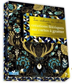 CREATIONS FEERIQUES SUR CARTES A GRATTER - CARTES, STICKERS, STYLET