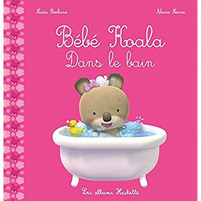 Bebe koala - dans le bain