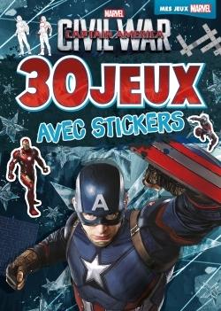 CIVIL WAR, 30 JEUX AVEC STICKERS