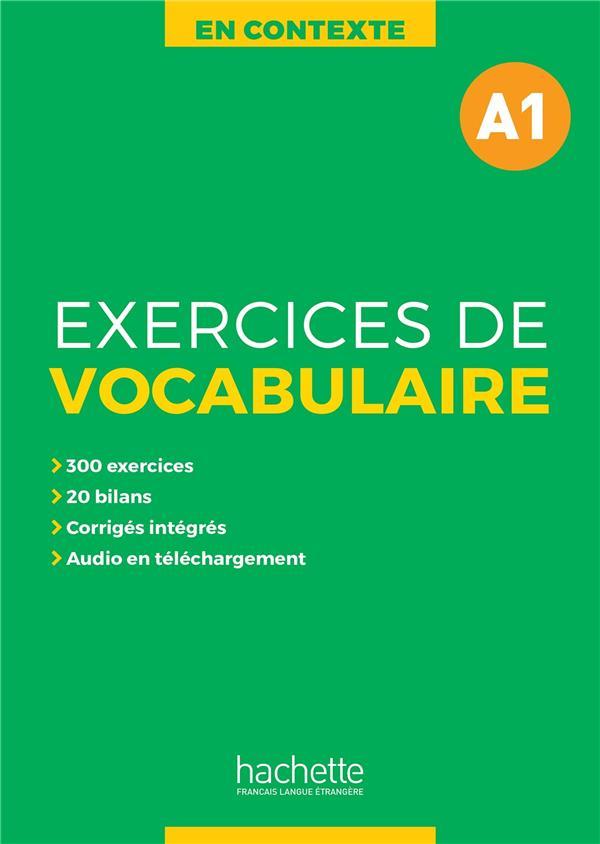 En contexte - exercices de vocabulaire a1 + audio mp3 + corriges