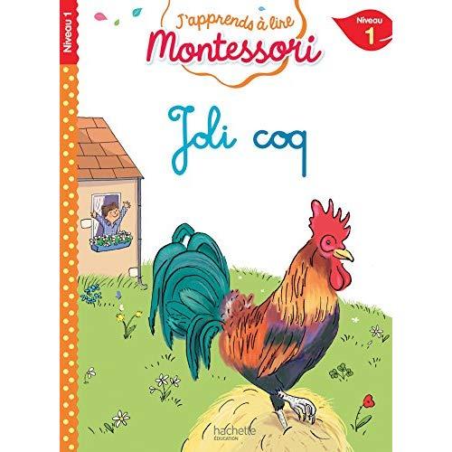 Joli coq, niveau 1 - j'apprends a lire montessori