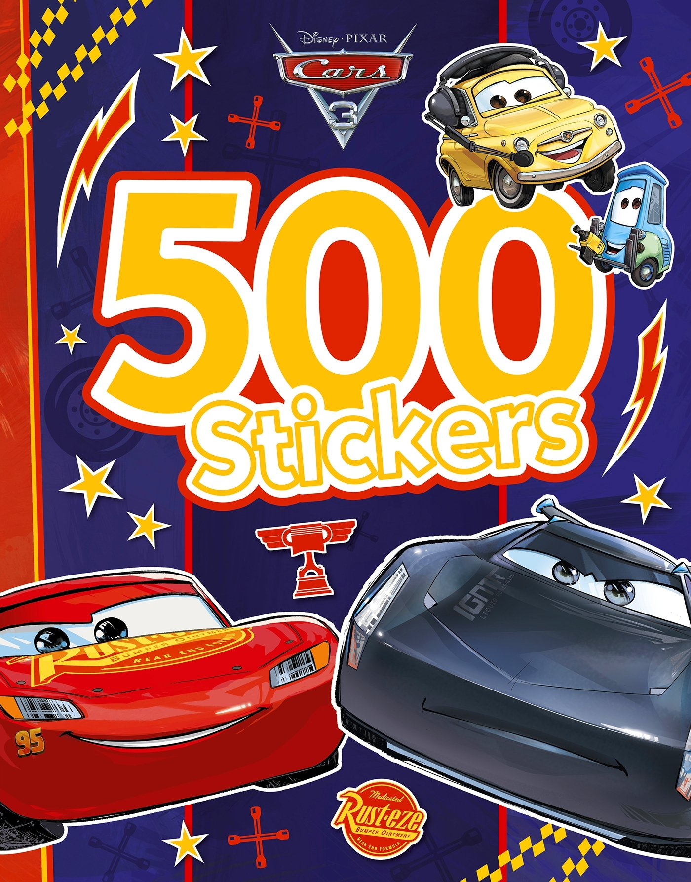 CARS 3 - 500 STICKERS