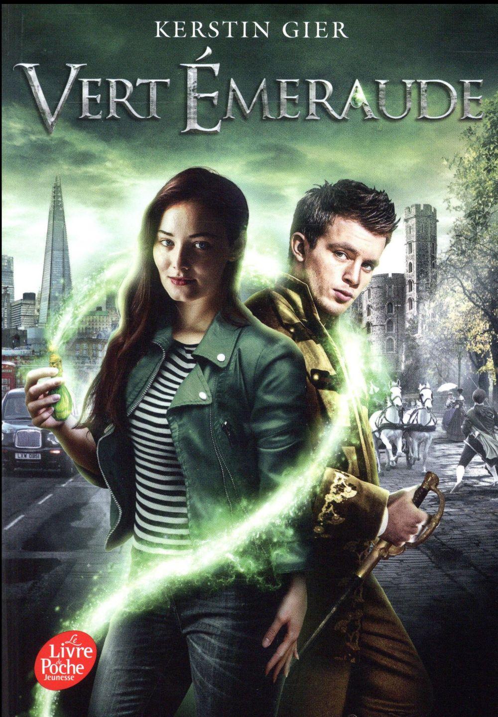 La trilogie des gemmes - vert emeraude - tome 3