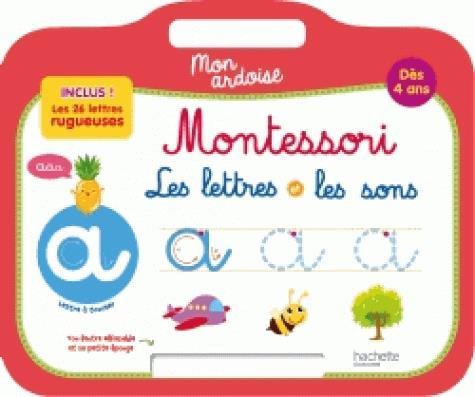 Mon ardoise montessori les lettres et les sons des 4 ans