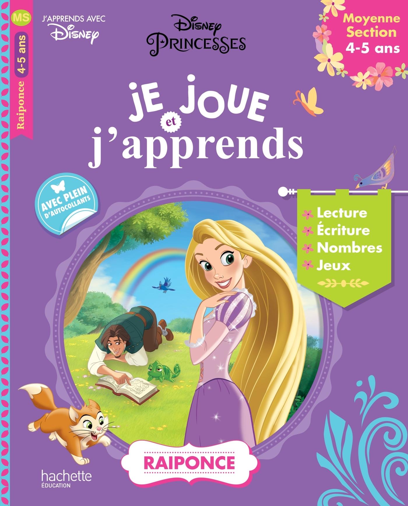 RAIPONCE JE JOUE ET J'APPRENDS MS (4-5 ANS)