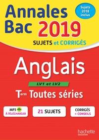 ANNALES BAC 2019 ANGLAIS TLES TOUTES SERIES