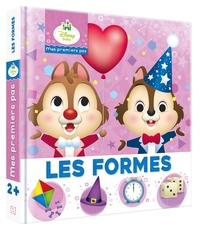 DISNEY BABY - MES PREMIERS PAS - IMAGIER - LES FORMES