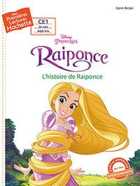 1ERES LECTURES (CE1) DISNEY - PRINCESSE RAIPONCE : L'HISTOIRE DE RAIPONCE