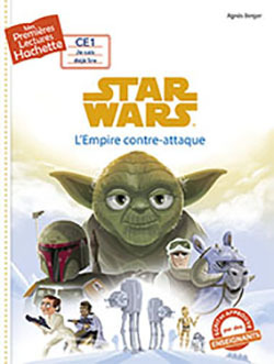 1ERES LECTURES (CE1) STAR WARS N 2 : L'EMPIRE CONTRE-ATTAQUE
