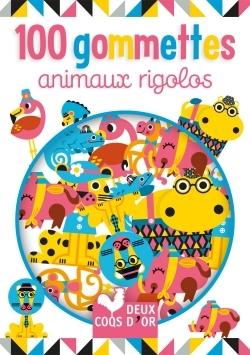 100 GOMMETTES ANIMAUX RIGOLOS
