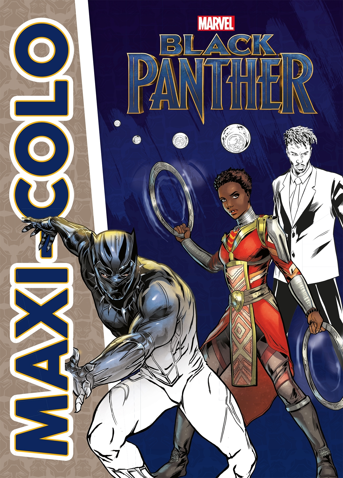 BLACK PANTHER - MAXI-COLO - MARVEL