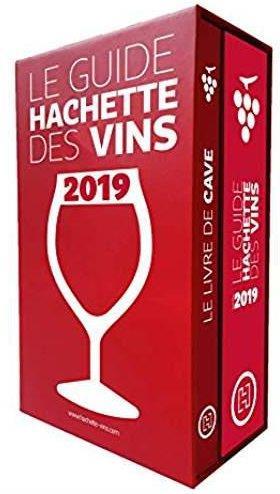 Coffret guide hachette des vins 2019 + livre de cave