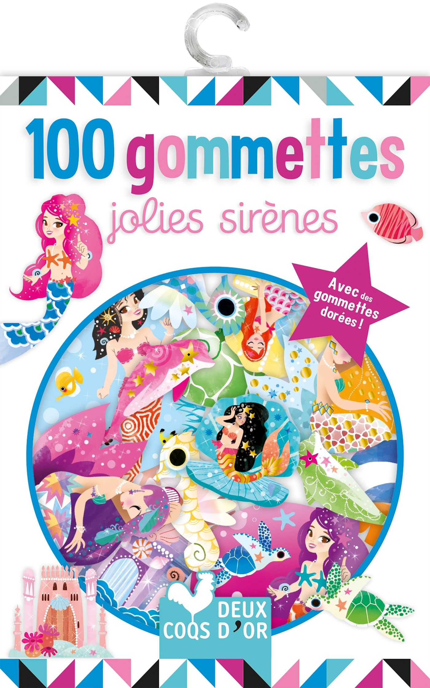 100 GOMMETTES - JOLIES SIRENES