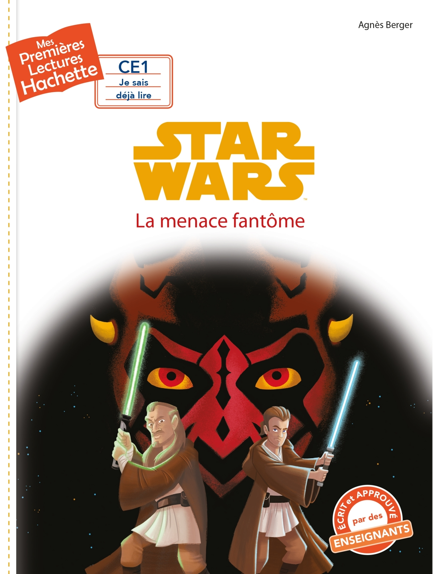 1ERES LECTURES (CE1) DISNEY - STAR WARS N 4 : LA MENACE FANTOME