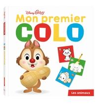 DISNEY BABY - MON PREMIER COLO - LES ANIMAUX - POUR DESSINER ET COLORIER SANS DEPASSER