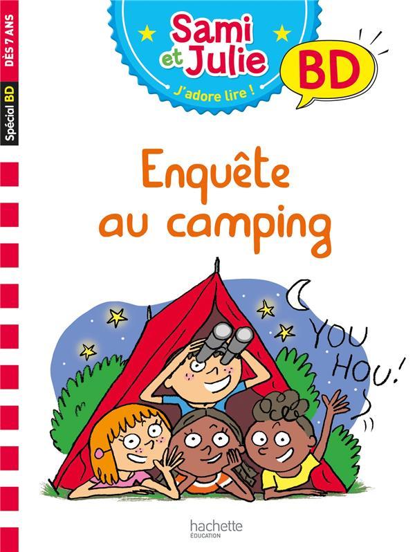 Sami et julie bd : enquete au camping