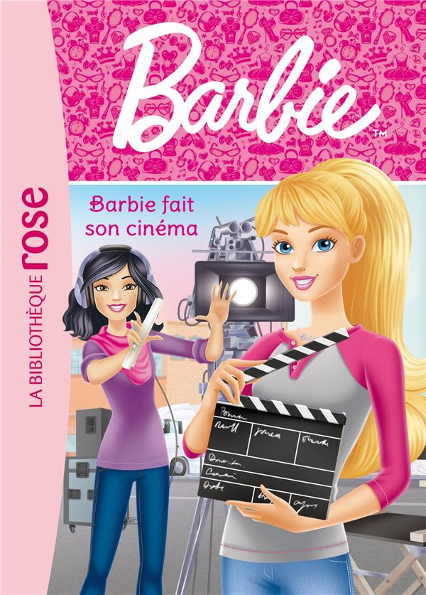Barbie - t11 - barbie - metiers 11 - barbie fait du cinema