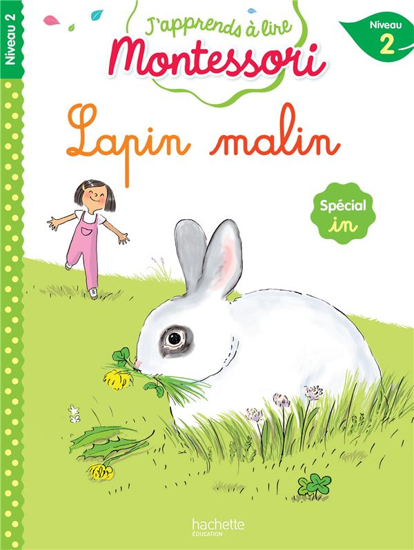 Lapin malin, niveau 2 - j'apprends a lire montessori