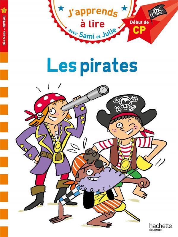 Sami et julie cp niveau 1 les pirates