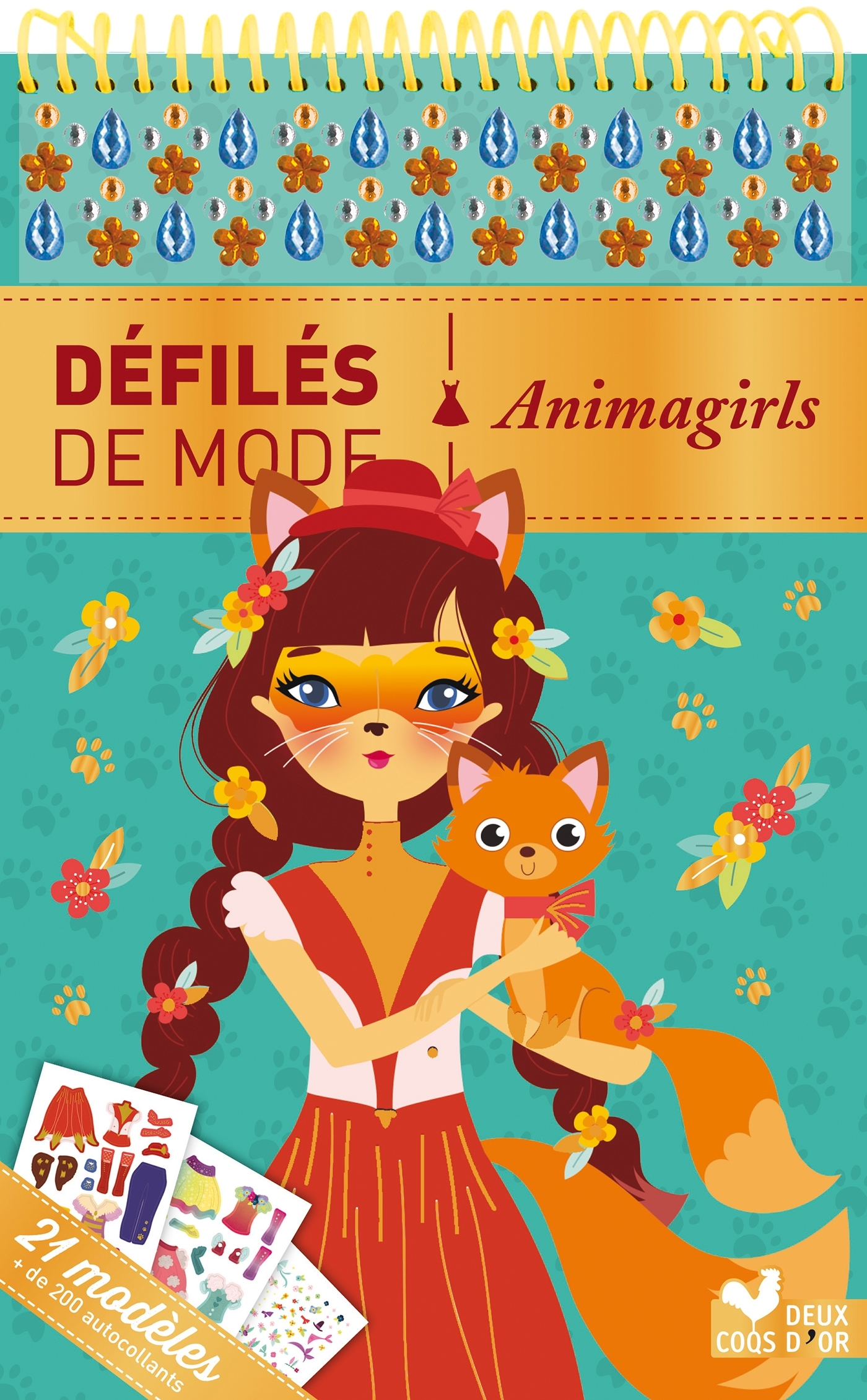ANIMAGIRLS - BLOC A SPIRALE