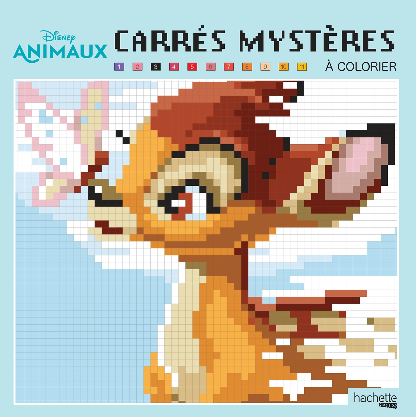 CARRES MYSTERES ANIMAUX DISNEY