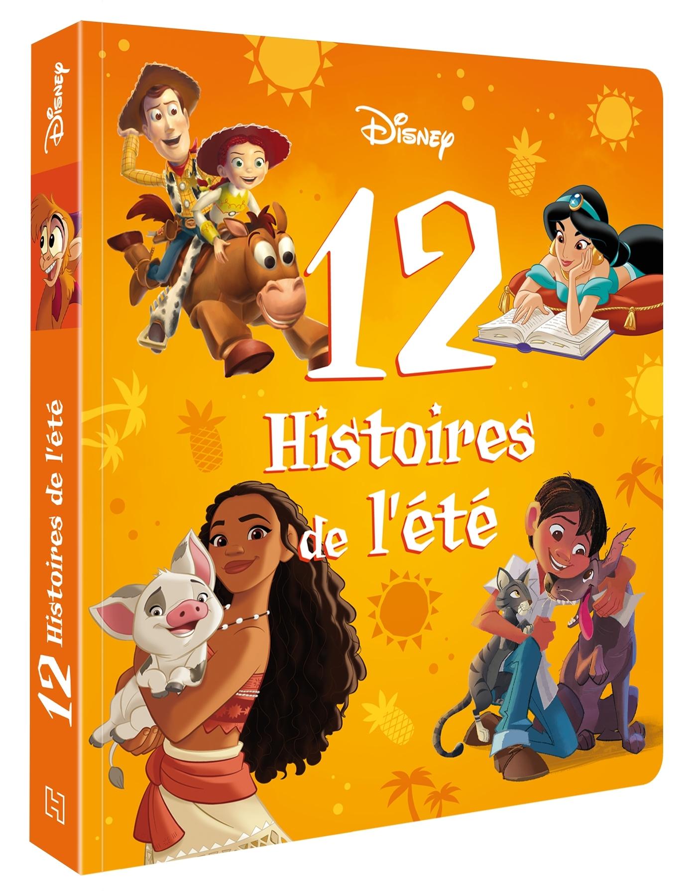 DISNEY - 12 HISTOIRES POUR L'ETE
