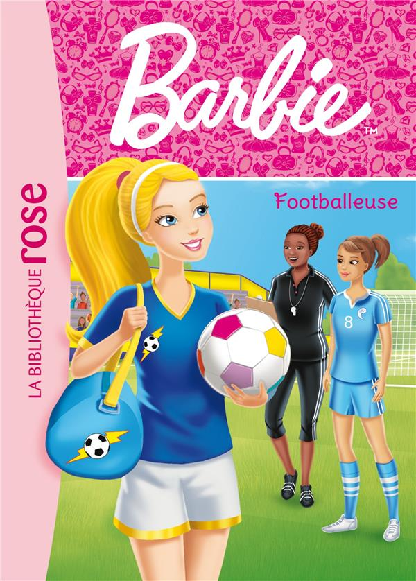 Barbie - t13 - barbie - metiers 13 - footballeuse
