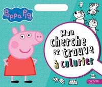 PEPPA PIG - CHERCHE ET TROUVE A COLORIER