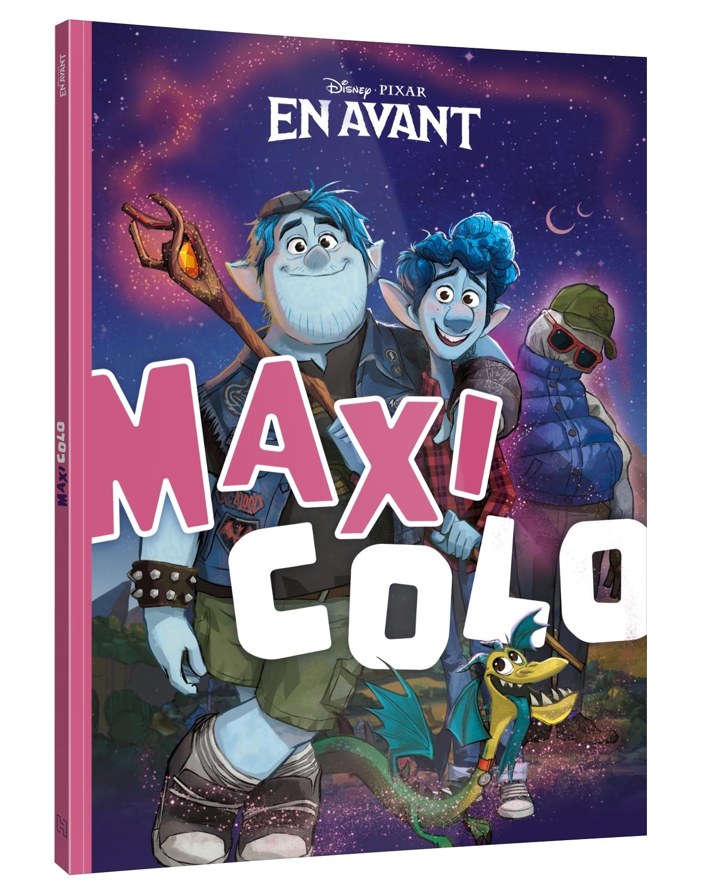 EN AVANT - MAXI COLO - DISNEY PIXAR