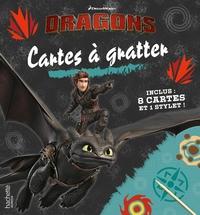 DRAGONS-CARTES A GRATTER