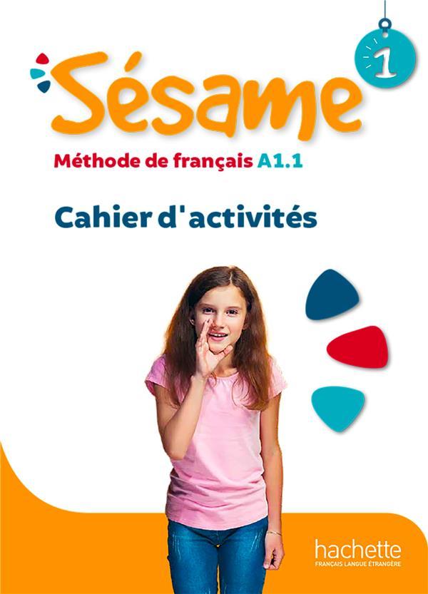 SESAME 1  CAHIER D'ACTIVITES