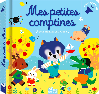 MES PETITES COMPTINES - LIVRE AVEC PUCES SONORES