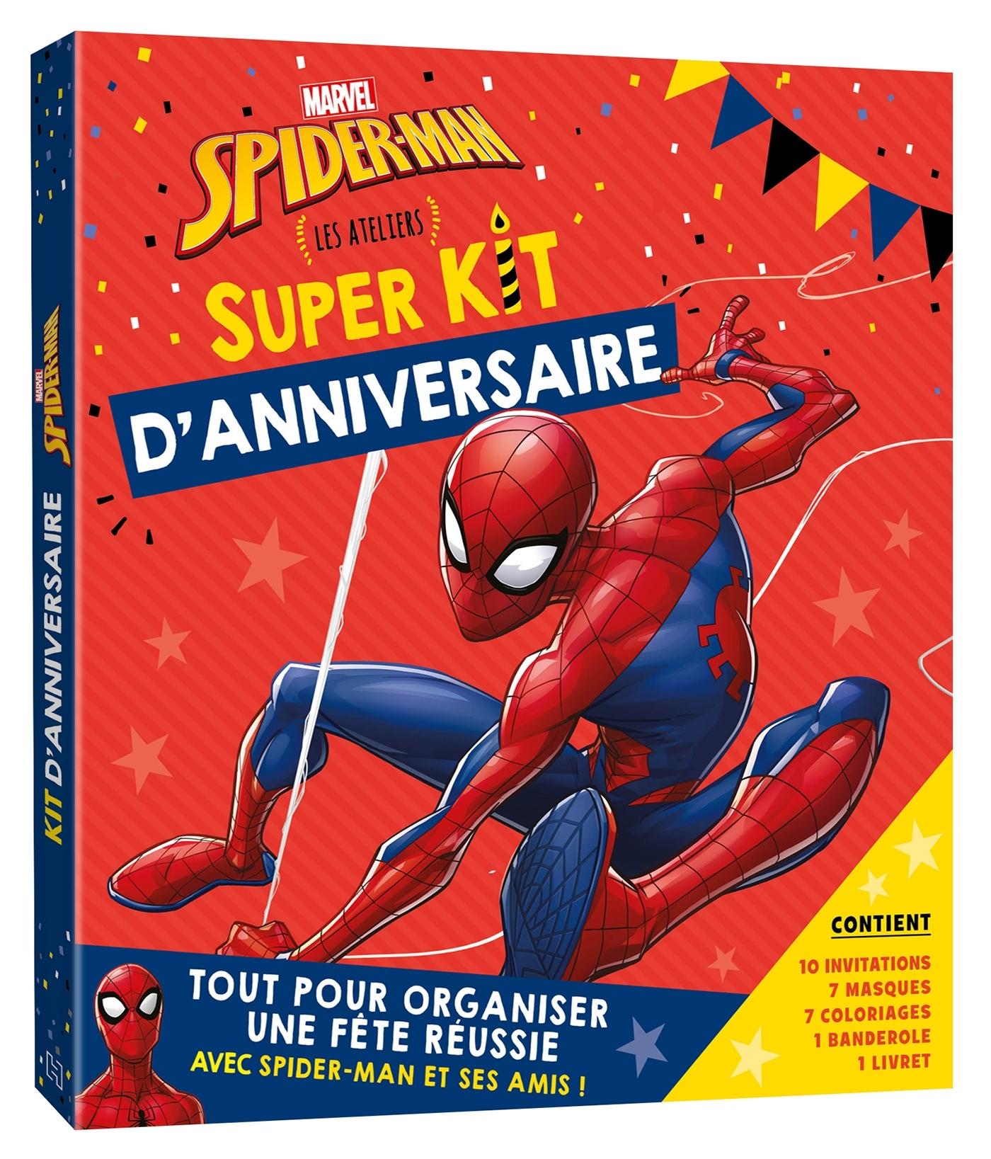 SPIDER-MAN - KIT D'ANNIVERSAIRE - MARVEL