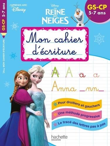 Disney - reine des neiges mon cahier d'ecriture gs