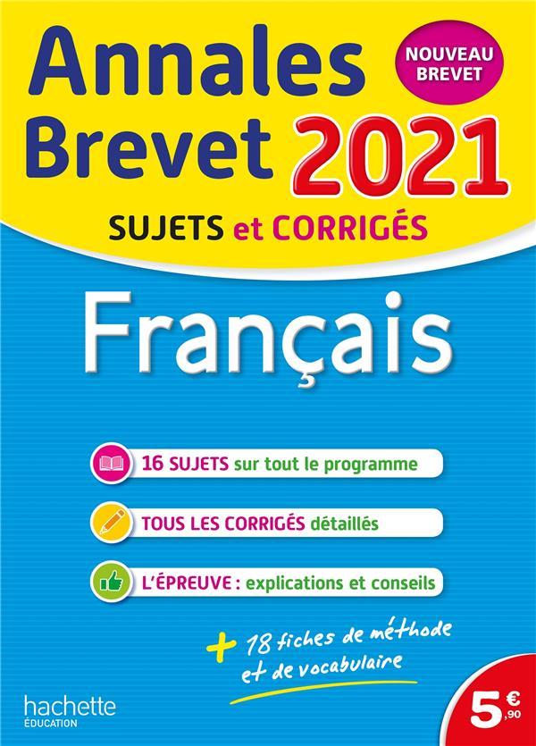 Annales brevet 2021 francais