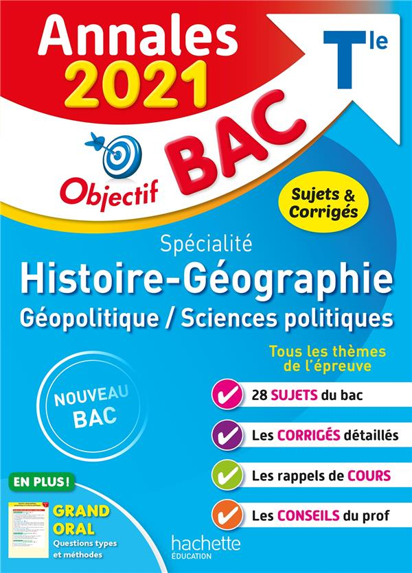 Annales bac 2021 spe histoire-geographie term