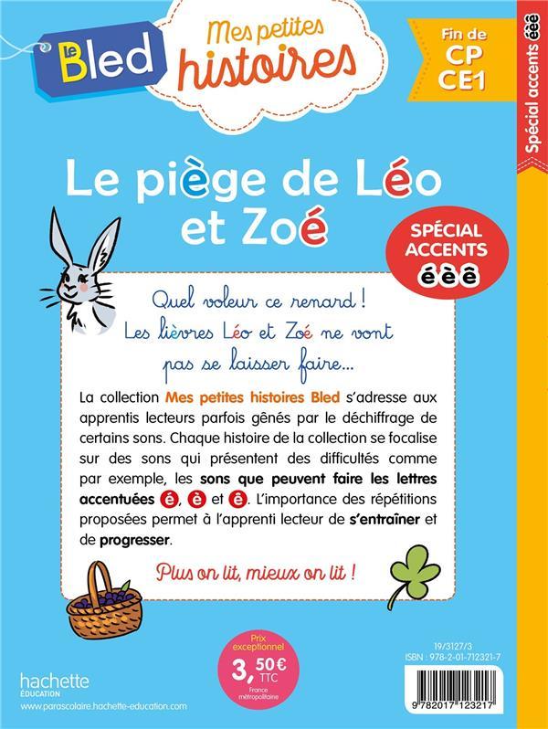 Le piege de leo et zoe (lettres e, e, e)