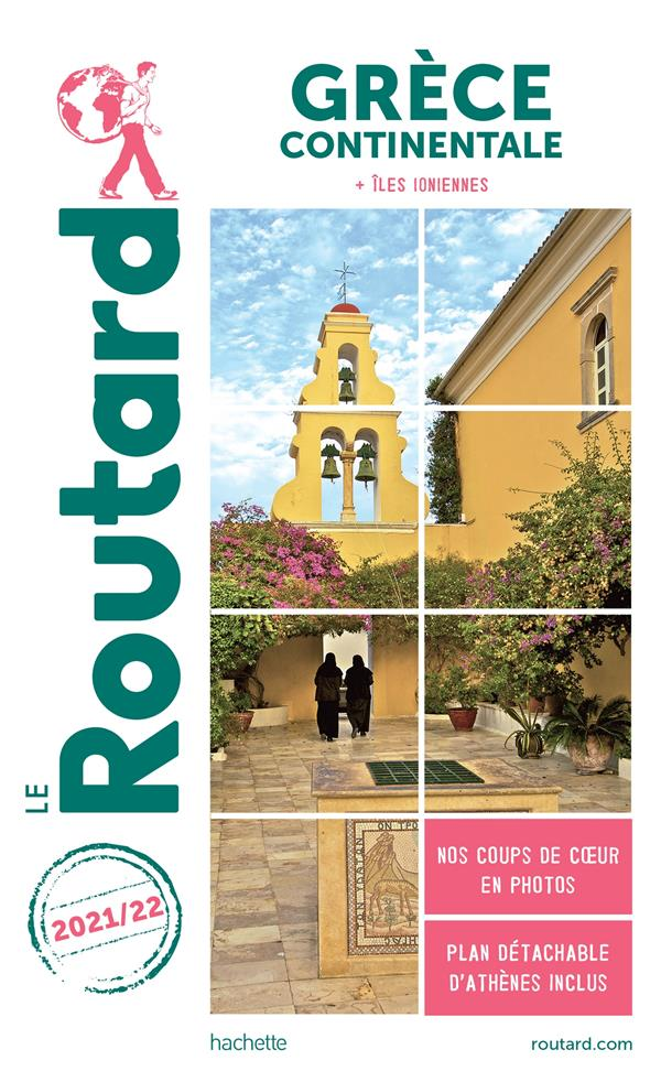 Guide du routard grece continentale 2021/22