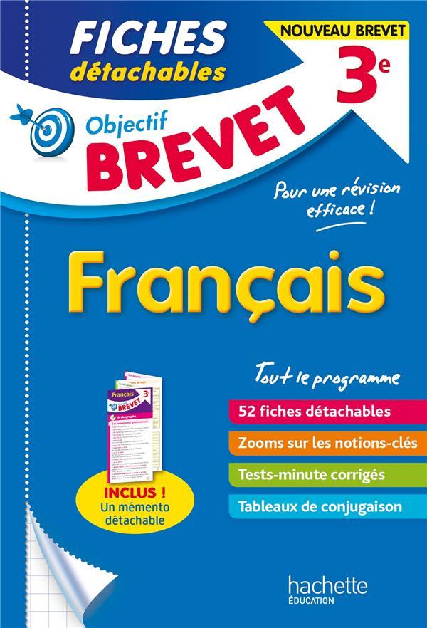 Objectif brevet - fiches francais